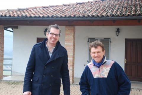 Wim Rousseau en Giuseppe Gozzelino Sciorio
