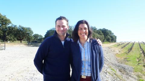 Wouter de Wachter en Vanda Carvalho