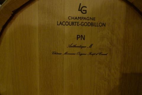 Champagne Lacourte Godbillon Chêne merrain d'Ecueil